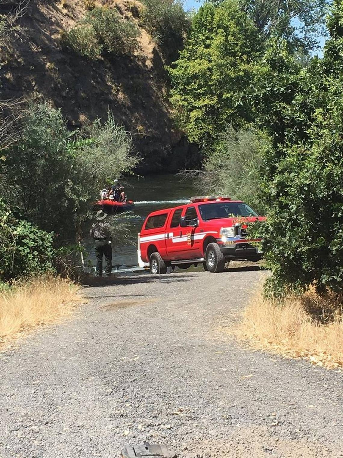 image of rescue team vehicle