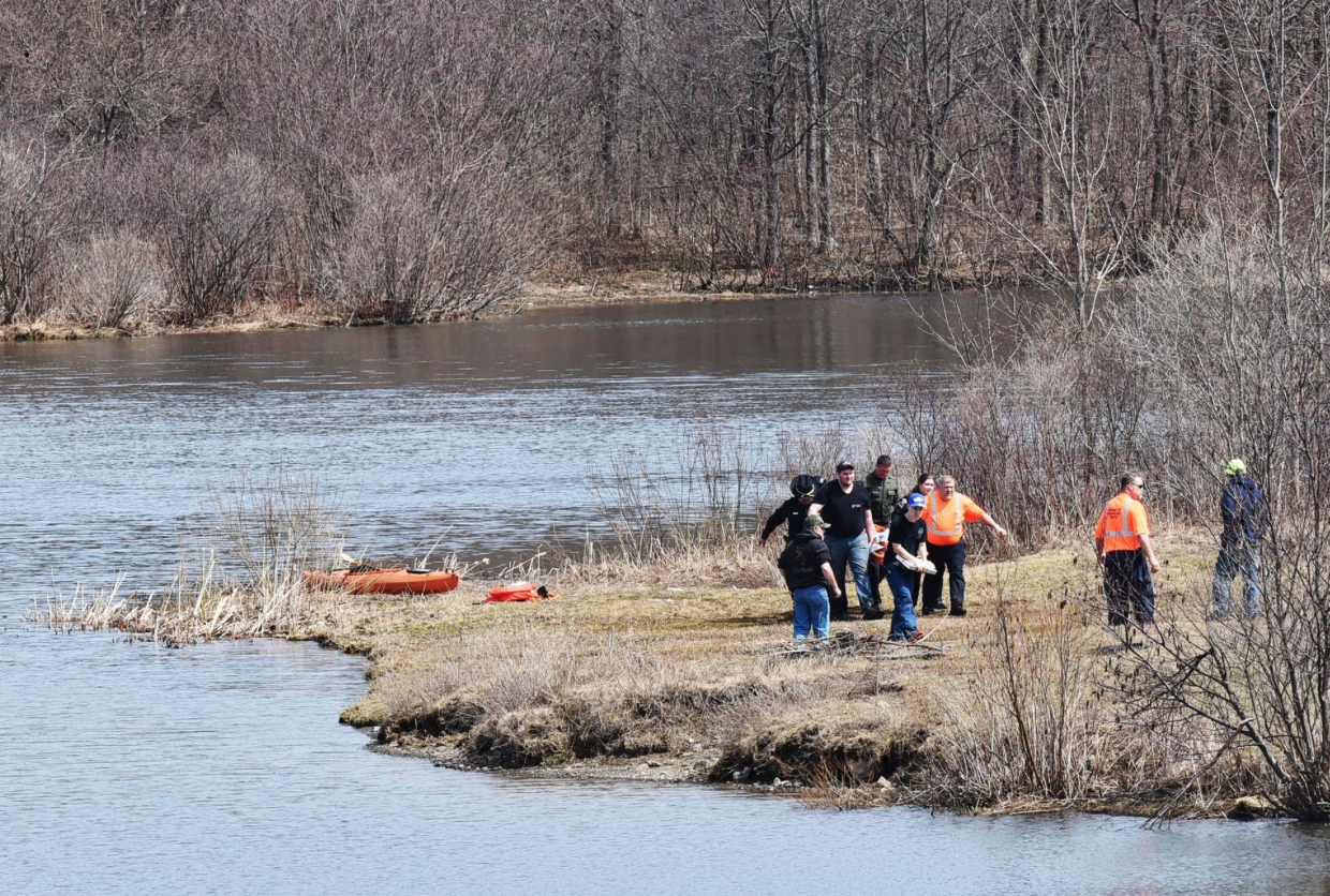 Image of rescue efforts