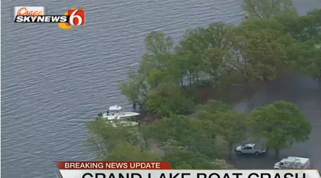 Image of boat crash